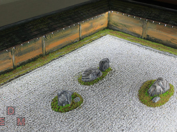 Макет японский сад камней | Ярмарка Мастеров - ручная работа, handmade