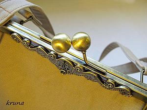 4c96889c1c0c Особенности построения несложных лекал для сумок с фермуаром | Ярмарка  Мастеров - ручная работа, handmade