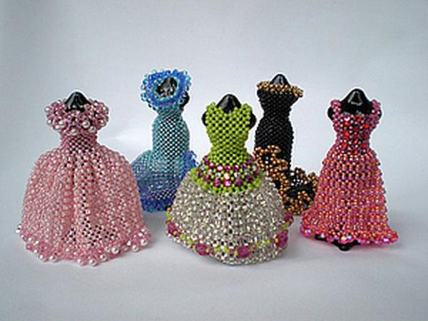Бисерные платья Сиан Нолан | Ярмарка Мастеров - ручная работа, handmade