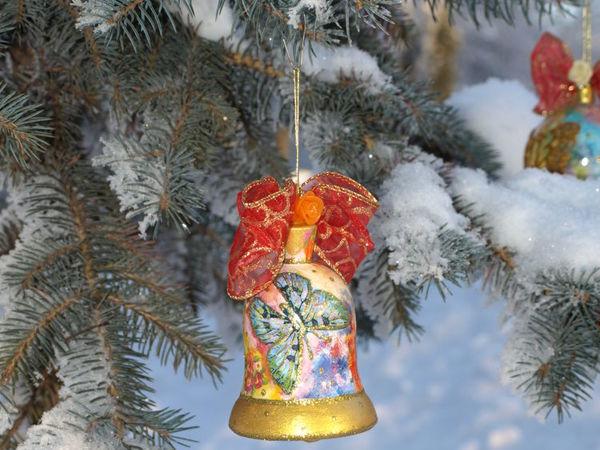 Набор ёлочных игрушек  «Зималетто»   Ярмарка Мастеров - ручная работа, handmade