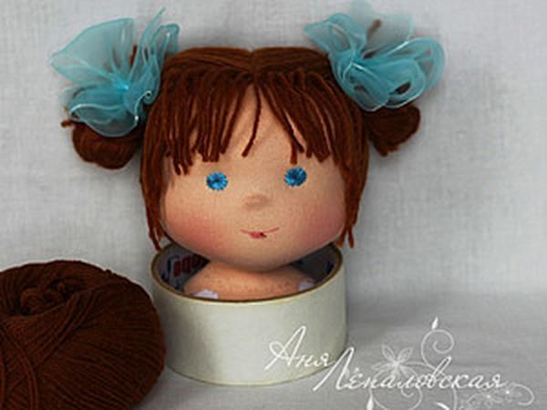 Статичная прическа для вальдорфской куклы | Ярмарка Мастеров - ручная работа, handmade