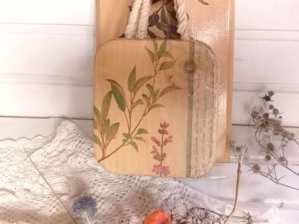 Вживляем салфетки в светлую деревянную поверхность   Ярмарка Мастеров - ручная работа, handmade