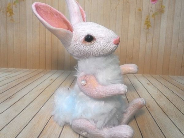 Делаем пасхального кролика из полимерной глины. Часть 1   Ярмарка Мастеров - ручная работа, handmade