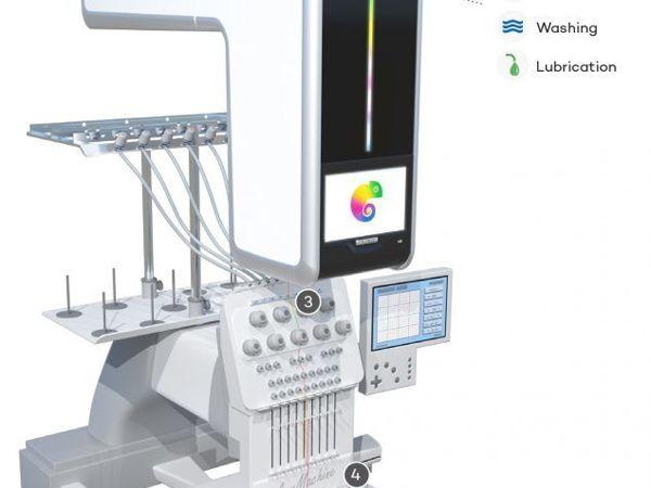 В мире машинной вышивки произошёл технологический прорыв: новое приспособление для вышивальной машины | Ярмарка Мастеров - ручная работа, handmade
