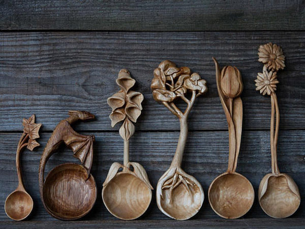 Резьба по дереву борфрезами | Ярмарка Мастеров - ручная работа, handmade