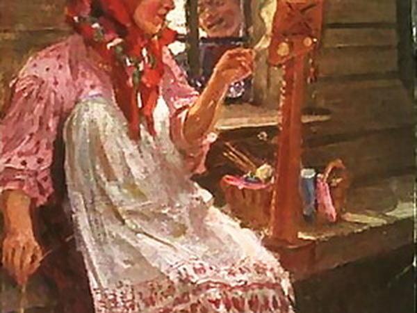 Как в старину пряжу изготавливали   Ярмарка Мастеров - ручная работа, handmade
