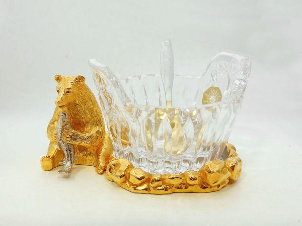 Икорница  «Медведь» . Златоуст z1703 | Ярмарка Мастеров - ручная работа, handmade