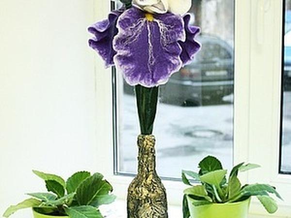 Декорирование вазы. Текстурная паста и рельефы. | Ярмарка Мастеров - ручная работа, handmade