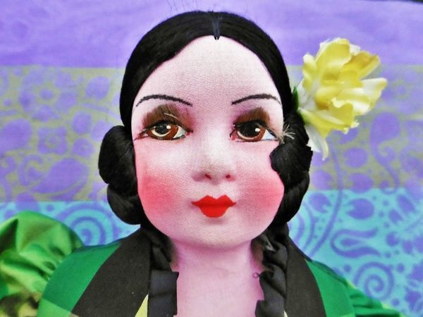 Старинная будуарная кукла Габриэль эпохи Арт деко уже в магазине! | Ярмарка Мастеров - ручная работа, handmade