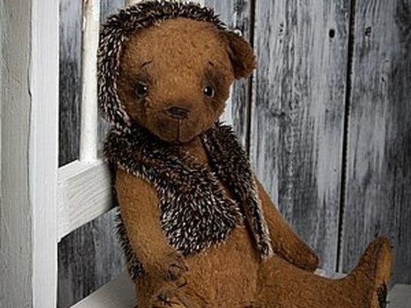 Базовый курс по изготовлению мишки Тедди. | Ярмарка Мастеров - ручная работа, handmade
