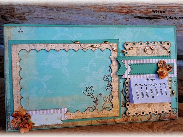 Making a Calendar with a Photo Frame | Livemaster - handmade