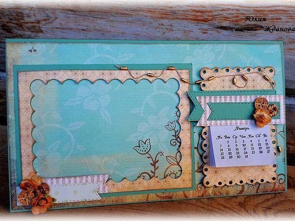 Making a Calendar with a Photo Frame | Livemaster - handmade
