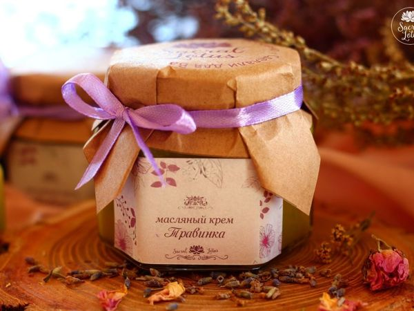 Масляный крем Травинка | Ярмарка Мастеров - ручная работа, handmade