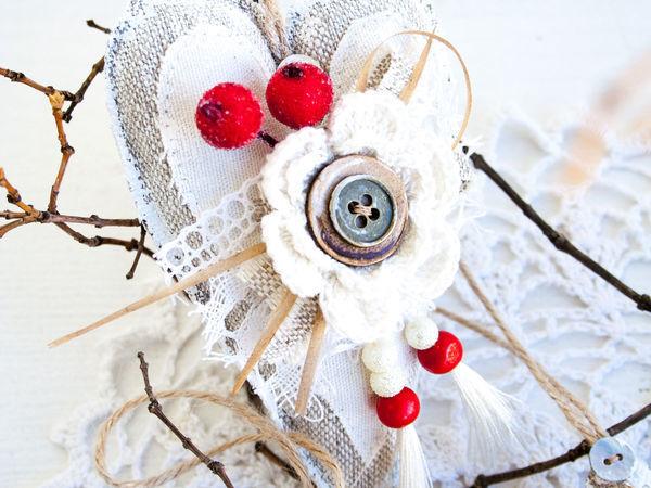 Делаем ёлочные игрушки в рустикальном стиле | Ярмарка Мастеров - ручная работа, handmade