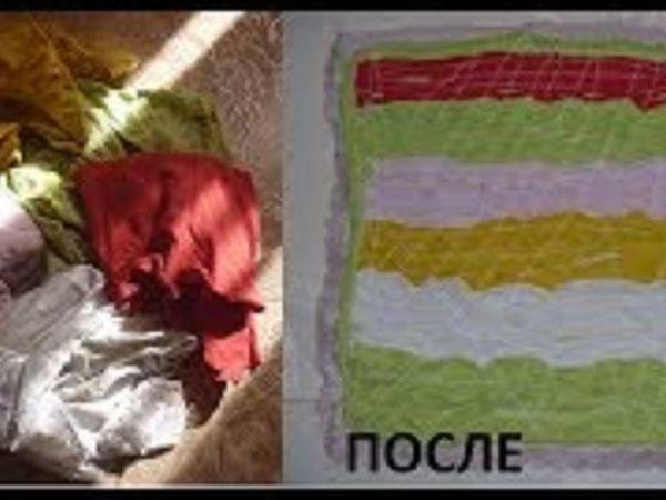 Шьем коврик из лоскутков   Ярмарка Мастеров - ручная работа, handmade