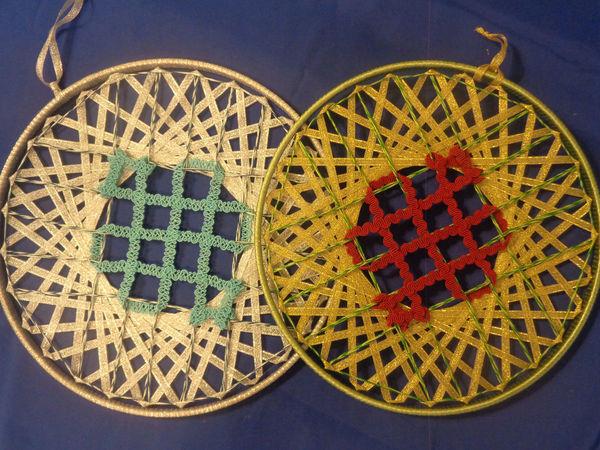 Плетем мандалу «Тибетский узел» | Ярмарка Мастеров - ручная работа, handmade