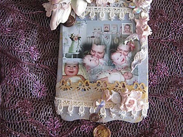 Шебби рамочка для фото | Ярмарка Мастеров - ручная работа, handmade