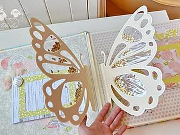 Альбом о бабочках и стрекозах | Ярмарка Мастеров - ручная работа, handmade