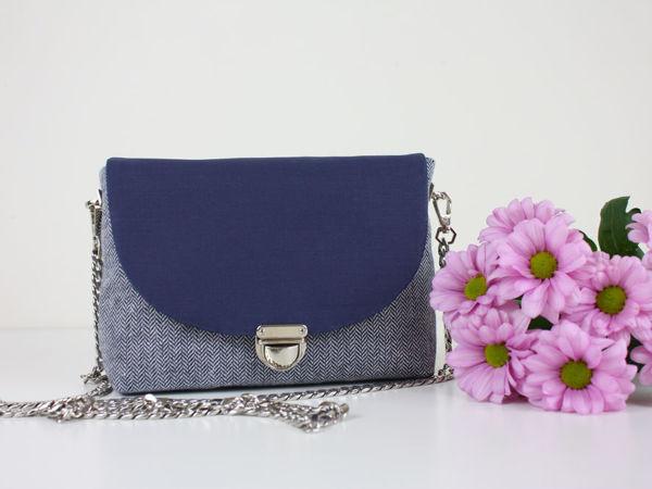 Как сшить сумку с портфельной застежкой | Ярмарка Мастеров - ручная работа, handmade
