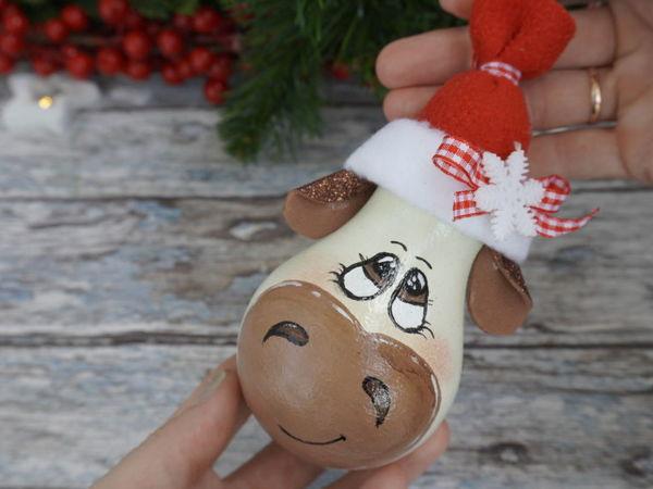 Делаем елочную игрушку из лампочки | Ярмарка Мастеров - ручная работа, handmade
