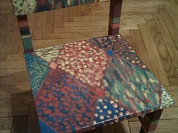 Декорирование детского стульчика | Ярмарка Мастеров - ручная работа, handmade