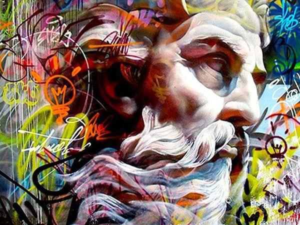 Классика в граффити от Pichi & Avo | Ярмарка Мастеров - ручная работа, handmade
