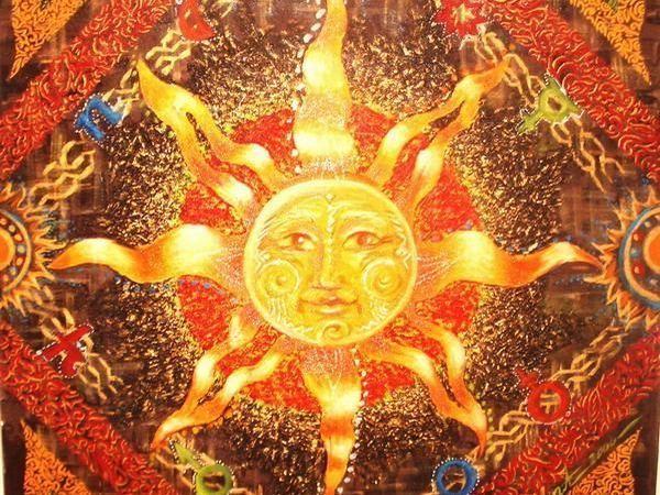 Близится период зимнего солнцестояния | Ярмарка Мастеров - ручная работа, handmade