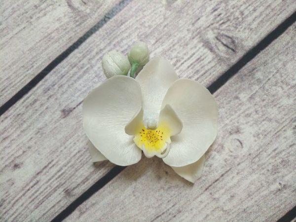 Делаем брошь  «Орхидея» | Ярмарка Мастеров - ручная работа, handmade