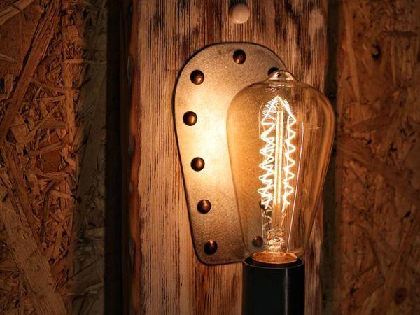Светильник настенный двойной | Ярмарка Мастеров - ручная работа, handmade