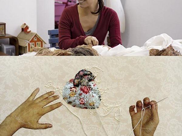 Эффект бесконечности в работах Ana Teresa Barboza | Ярмарка Мастеров - ручная работа, handmade