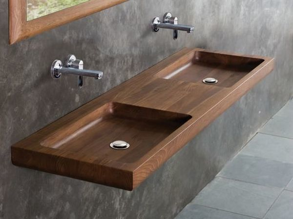 Деревянная раковина - оригинальное решение для ванной | Ярмарка Мастеров - ручная работа, handmade