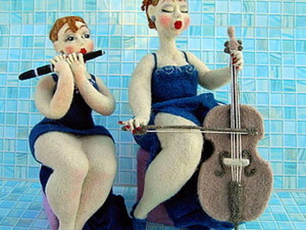Вдвоем веселее | Ярмарка Мастеров - ручная работа, handmade