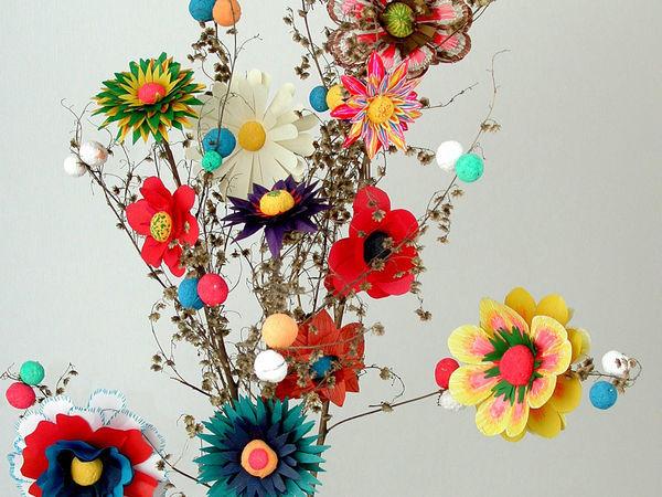 Какие поделки можно сделать из пенопластовых шариков маленького размера... | Ярмарка Мастеров - ручная работа, handmade