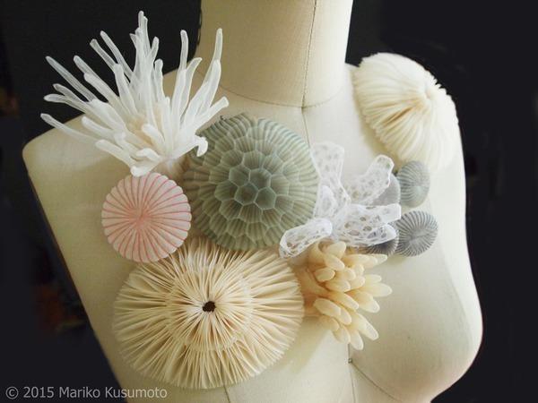 Шифоновые чудеса Mariko Kusumoto | Ярмарка Мастеров - ручная работа, handmade