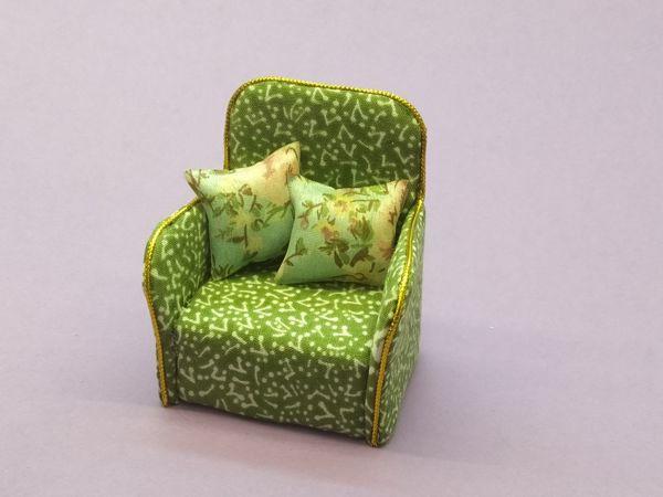 Мастерим кресло для куклы | Ярмарка Мастеров - ручная работа, handmade