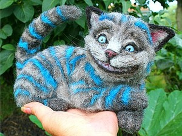 Войлочные зверушки Stephanie Tiongco   Ярмарка Мастеров - ручная работа, handmade