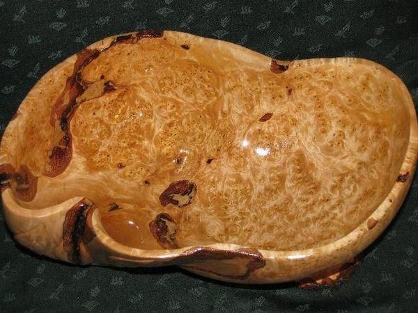 Ваза деревянная из капа березы | Ярмарка Мастеров - ручная работа, handmade