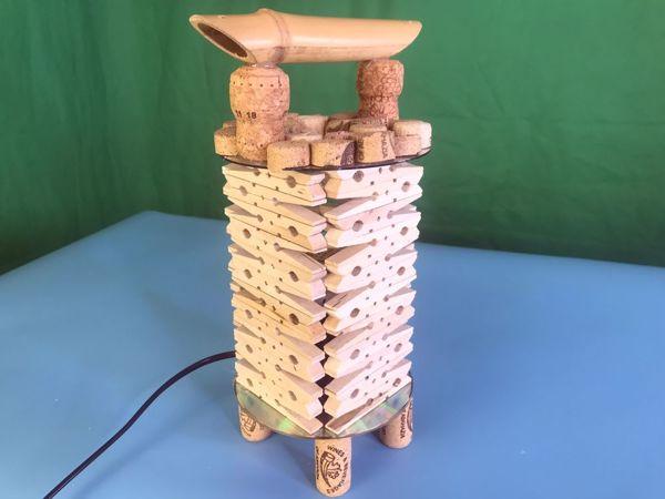 Создаем оригинальный фонарь из прищепок в китайском стиле   Ярмарка Мастеров - ручная работа, handmade