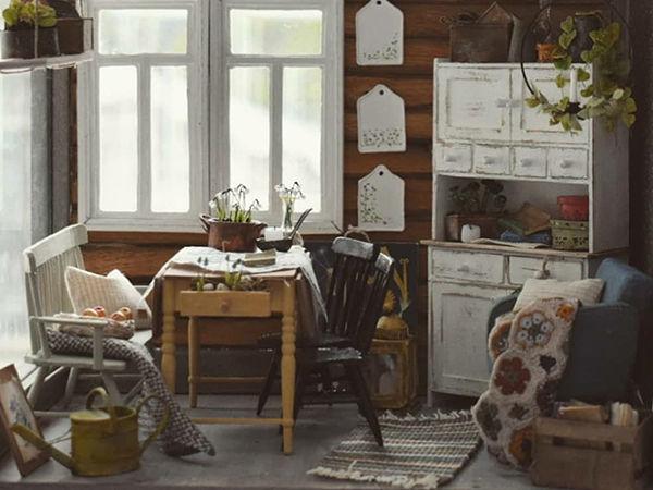 Финская художница создает дома мечты... в миниатюре | Ярмарка Мастеров - ручная работа, handmade