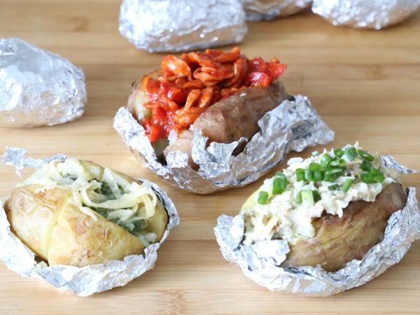 Три варианта разнообразить печёный картофель: пошаговые рецепты | Ярмарка Мастеров - ручная работа, handmade