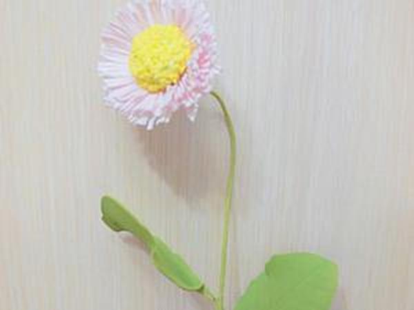 Делаем цветок маргаритки из фоамирана | Ярмарка Мастеров - ручная работа, handmade