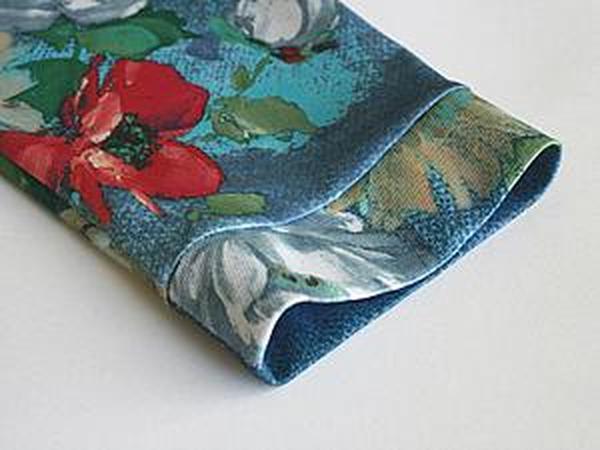 Три варианта обработки низа рукава из деликатных тканей | Ярмарка Мастеров - ручная работа, handmade