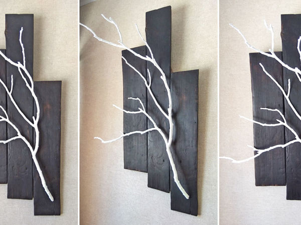 Making Decor of Old Boards and Branches | Livemaster - handmade