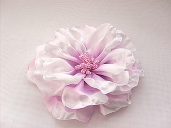 Цветок из ткани.   Ярмарка Мастеров - ручная работа, handmade