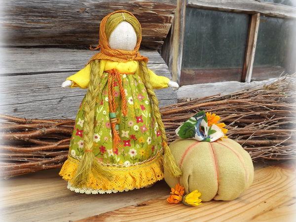 Мастер-класс: кукла-настроение «Тыковка» своими руками   Ярмарка Мастеров - ручная работа, handmade