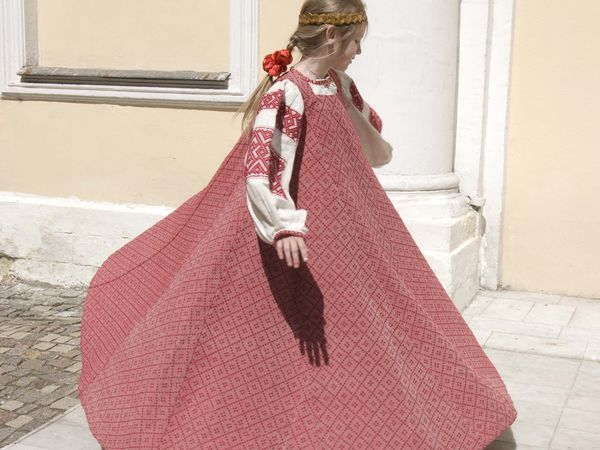 Традиционный русский народный сарафан | Ярмарка Мастеров - ручная работа, handmade