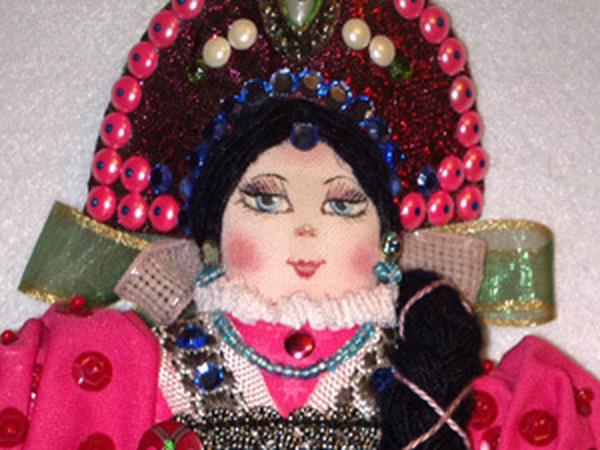 Русское Рождество и кукла Марфа | Ярмарка Мастеров - ручная работа, handmade