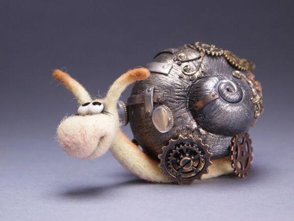 Улитка | Ярмарка Мастеров - ручная работа, handmade