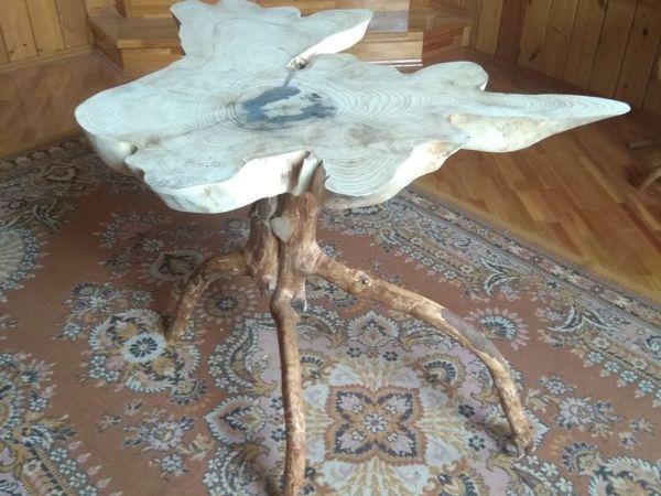 Изготавливаем оригинальный стол из елового спила. Часть 1. Заготовки для элементов стола   Ярмарка Мастеров - ручная работа, handmade