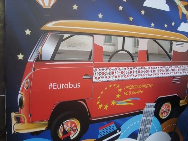 Евробус или Кусочек Европы своими руками | Ярмарка Мастеров - ручная работа, handmade